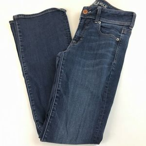 American Eagle Kick Bootcut Jeans Size 4 Regular